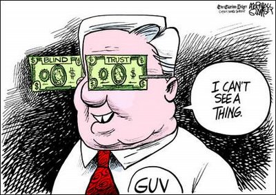haley barbour cartoon by ramsey Dont bet on politicians