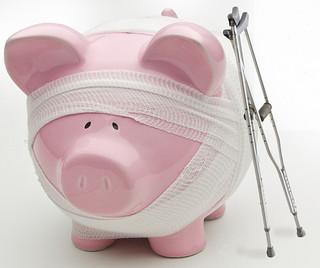 injured-piggy-bank